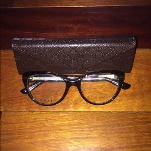 0d9e467c2a0 Gucci Accessories - New Gucci GG 3851 Cat Eye Glasses Frames